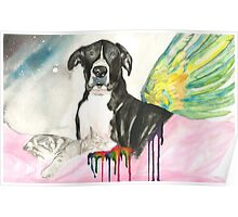 Cooper at Rainbow Bridge Poster