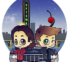 Winchesters in Minneapolis by bonejangless