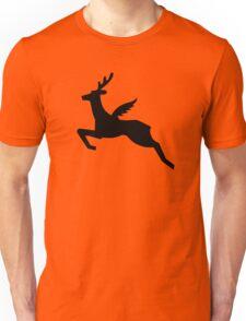 Flying Reindeer Unisex T-Shirt