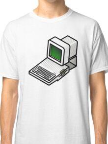 Apple //c CRT Monitor Classic T-Shirt