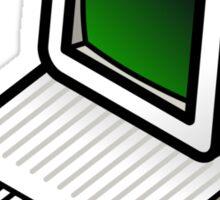 Apple //c CRT Monitor Sticker