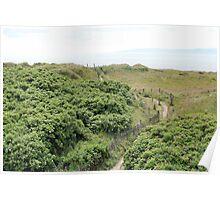 Path to Stevenston Beach Poster