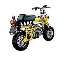 Honda Retro Monkey Z50A by LPdesigns