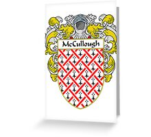 McCullough Coat of Arms/Family Crest Greeting Card