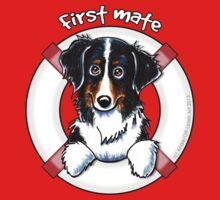 Bernese Mountain Dog : First Mate Kids Tee