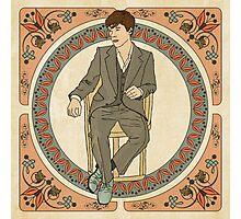 Art Nouveau Sherlock, BBC Sherlock Photographic Print
