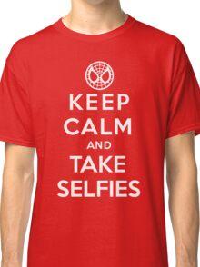 Keep Calm and Take Selfies - Spiderman Classic T-Shirt