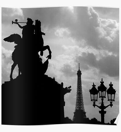 Parisian Silhouettes ~ Part Two Poster