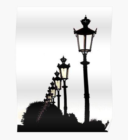 Parisian Silhouettes ~ Part Three Poster