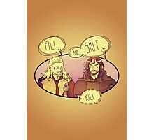 Fili and.... Photographic Print