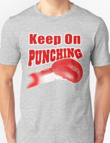Keep On Punching (Red) T-Shirt