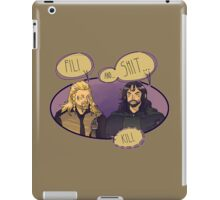 Fili and.... iPad Case/Skin