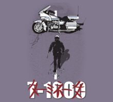 t-1000 terminator 2 akira poster by Faniseto
