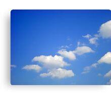 Sky signature Canvas Print