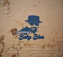 Heisenberg's Baby Blue. by dillymilly
