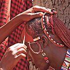 Masai Face Paint by phil decocco