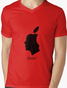 deGeneration Apple Mens V-Neck T-Shirt