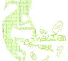 DIGITALIAN_HITCHER by auraclover