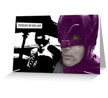 1966 Batman with a twist Greeting Card