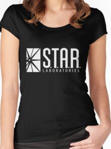 Black Star Labs Shirt Women's Fitted Scoop T-Shirt