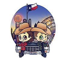 Winchesters in Dallas Photographic Print