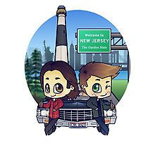 Winchesters in NJ Photographic Print