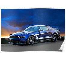 2013 Ford Mustang Boss 302 Poster
