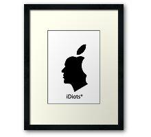 deGeneration Apple Framed Print