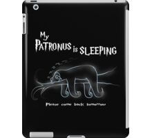My Patronus is sleeping iPad Case/Skin