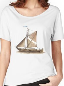 Vintage Ship Women's Relaxed Fit T-Shirt
