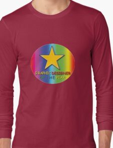 Graphic Designer Of The Year Long Sleeve T-Shirt
