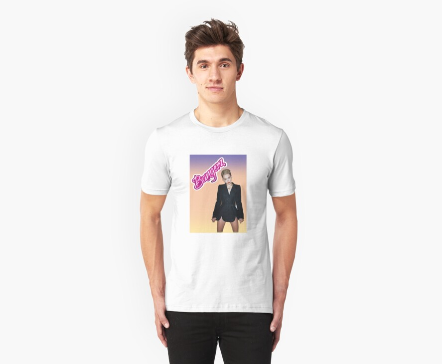 Bangerz Miley Cyrus Shirt by ljmalinchak