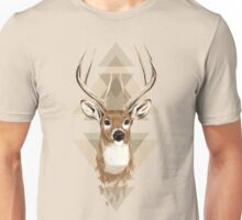 Geometric Deer Unisex T-Shirt
