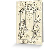 The Lovers (tarot) Greeting Card
