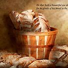 Inspirational - Your daily bread - Proverbs 22-9 by Mike  Savad