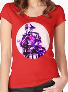 plum chair Women's Fitted Scoop T-Shirt