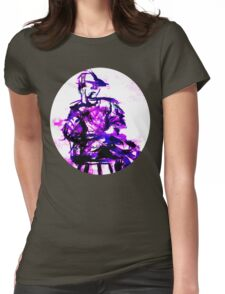 plum chair Womens Fitted T-Shirt