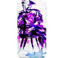 plum chair iPhone Case/Skin