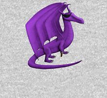 Purple Pirate Dragon Unisex T-Shirt