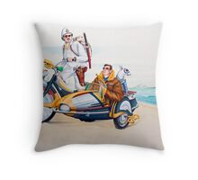 Wind it up Wrighty, Lippy is hot in her heels! Throw Pillow