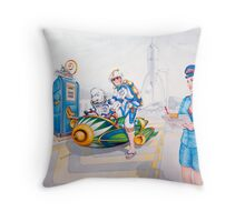 Rev him up Dolly, He's already well lubricated!!! Throw Pillow