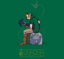 Link and the Master Guitar Unisex T-Shirt