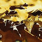 Golden Leafs by Elisabeth and Barry King™ by BE2gether