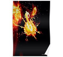 THE BIRTH OF MOLTEN MAN Poster