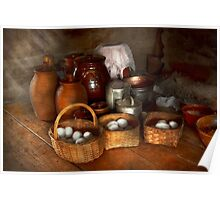 Food - Eggs - Country breakfast  Poster