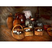 Food - Eggs - Country breakfast  Photographic Print