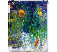 Tropical fish Discus and Neons iPad Case/Skin