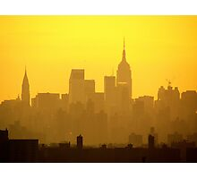 New York City late afternoon Photographic Print