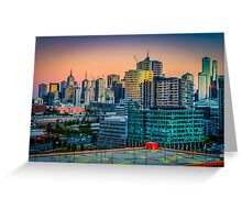 Mercurial Melbourne Greeting Card