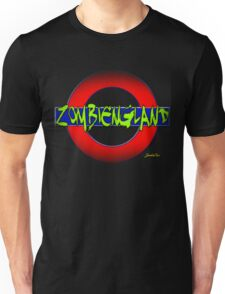 ZOMBIENGLAND - THEY'RE HERE!!! Unisex T-Shirt